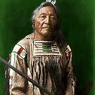 Sitting Elk - Crow Indian by DanKeller
