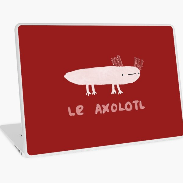 Le Axolotl Laptop Skin