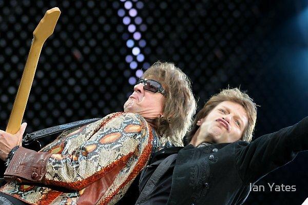 Bon Jovi & Richie Samboura. by Ian Yates