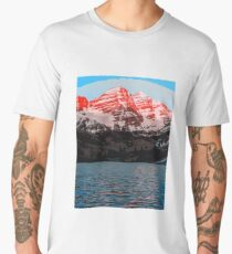 The Wonderful Maroon Bells - Landscapes of USA Men's Premium T-Shirt