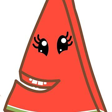 Watermelon Slice by talltimore