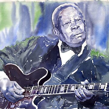 Jazz B B King 01 by shevchukart
