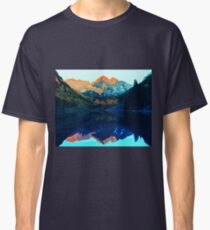 The Wonderful Maroon Bells - Landscapes of USA Classic T-Shirt