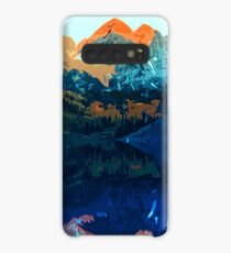 The Wonderful Maroon Bells - Landscapes of USA Case/Skin for Samsung Galaxy