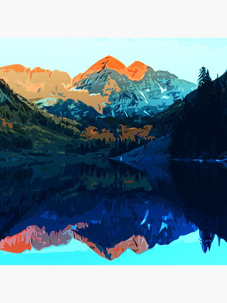 The Wonderful Maroon Bells - Landscapes of USA by ErianAndre