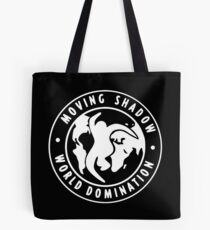 [WHITE] Moving Shadow World Domination  Tote Bag