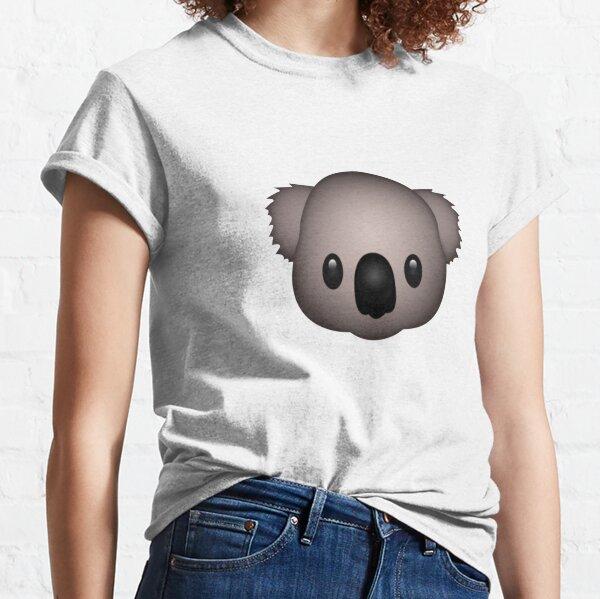 Cute Koala Emoji T-Shirt Classic T-Shirt