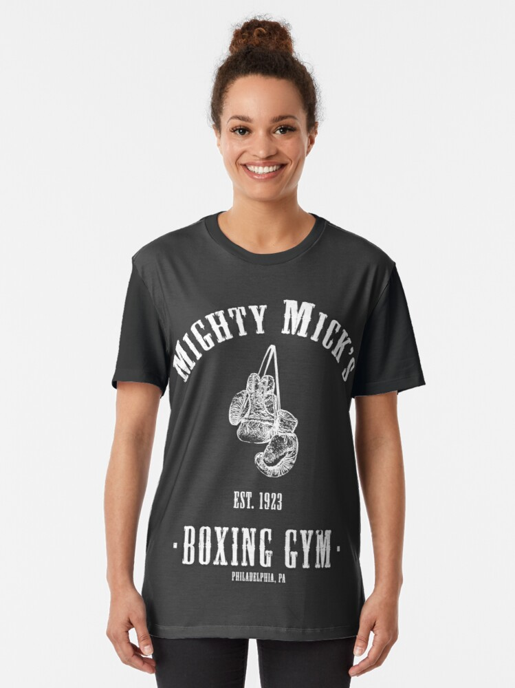 Alternate view of Mighty Micks Boxing Gym Graphic T-Shirt