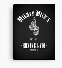 Mighty Micks Boxing Gym Canvas Print