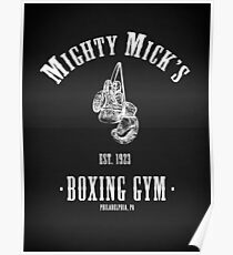 Mighty Micks Boxing Gym Poster