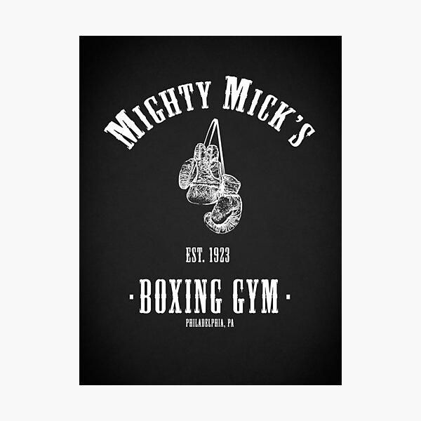 Mighty Micks Boxing Gym Lámina fotográfica