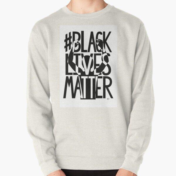 BLACK LIVES MATTER graphic artwork Pullover Sweatshirt