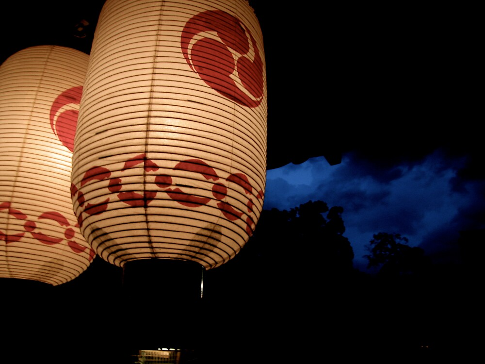 kyoto lanterns by geikomaiko