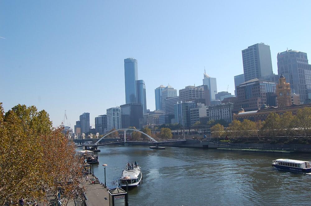 Melbourne City by Andrew Caple