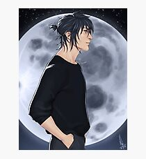 Noctis and the moon Photographic Print