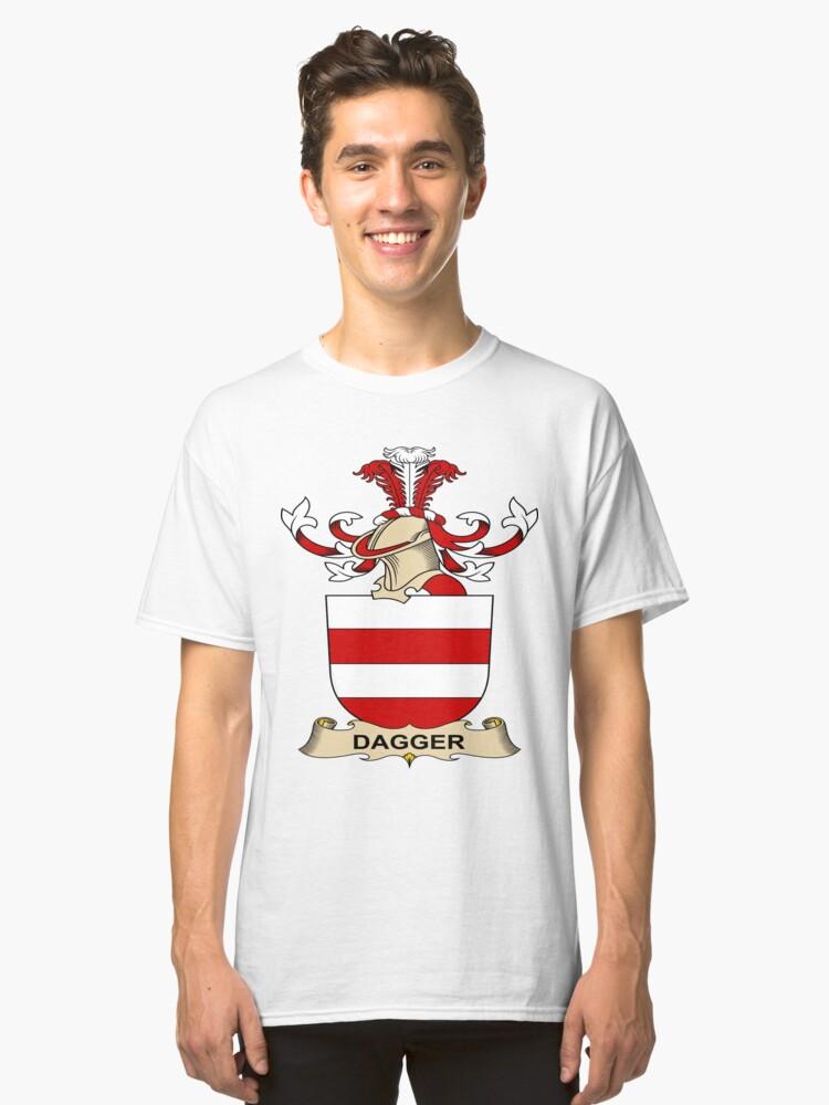 Dagger Classic T-Shirt Front