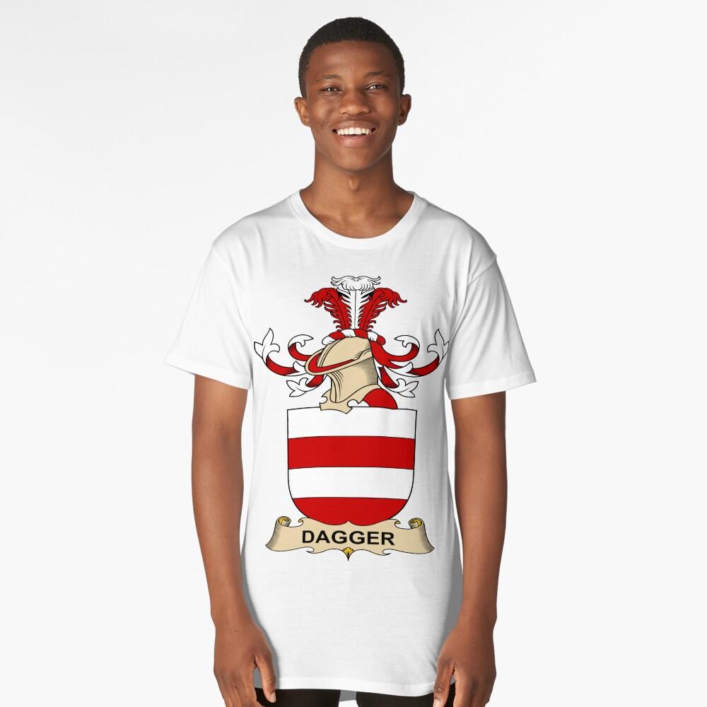 Dagger Long T-Shirt Front
