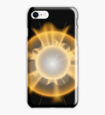 Glow light effect. Star burst with sparkles. iPhone Case/Skin