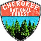 CHEROKEE NATIONAL FOREST TENNESSEE HIKING OUTDOOR NATURE CAMPING by MyHandmadeSigns
