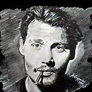 Johnny Depp  by Antonio  Luppino