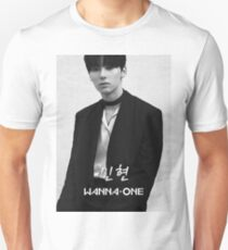 Wanna One - Black & White Minhyun 민현 T-Shirt