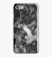 Sam's Longhorn Bull iPhone Case/Skin