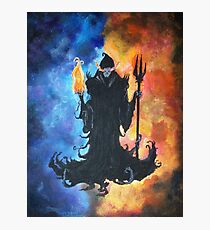Fire and Ice Mage Photographic Print