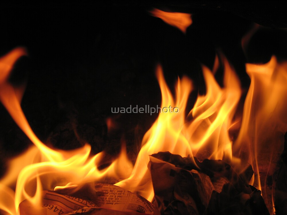 Fingers of Flame by waddellphoto
