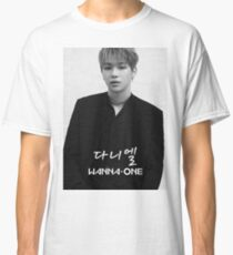 Wanna One - Black & White Kang Daniel 강다니엘 Classic T-Shirt