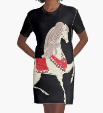 Tanzendes Pferd T-Shirt Kleid