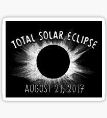 Total Solar Eclipse - August 21, 2017 Sticker