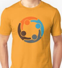 Four Color People Group T-Shirt