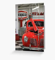 Red Hot Ride Greeting Card
