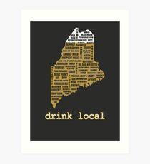 Lámina artística Drink Local (ME)