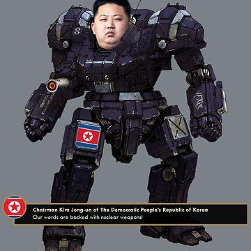 Mecha Kim Jong-un by MrHandsome