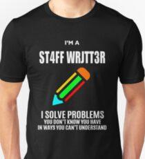 STAFF WRITTER T-Shirt