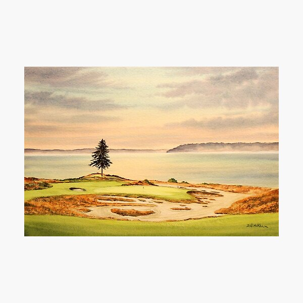 Chambers Bay Golf Course Photographic Print