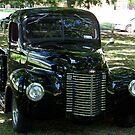 Classic Black Truck by Glenna Walker