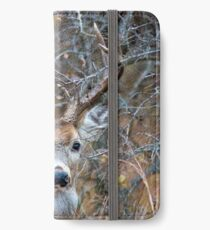 Buck in the Woods iPhone Wallet