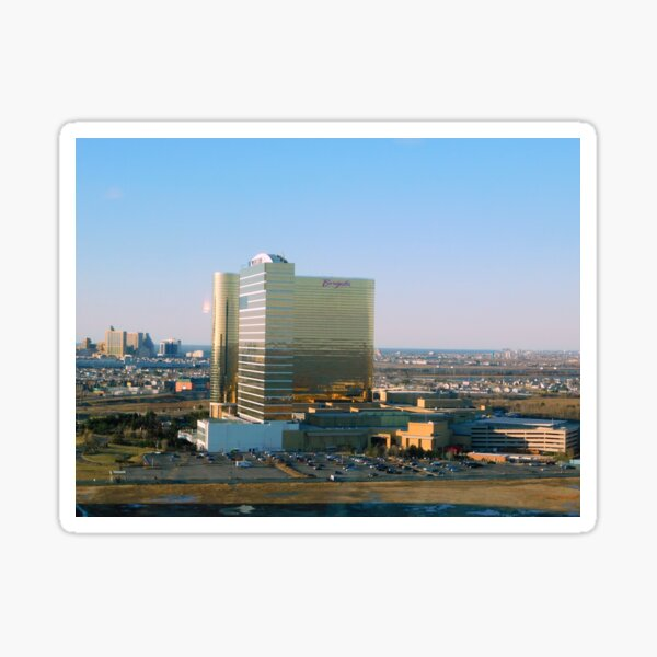Atlantic City Landscape      ^ Sticker