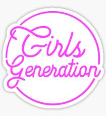 GIRLS GENERATION HOLIDAY NIGHT PINK Sticker