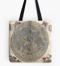 Map of the Moon Tote Bag