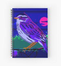 Evening Sparrow Spiral Notebook