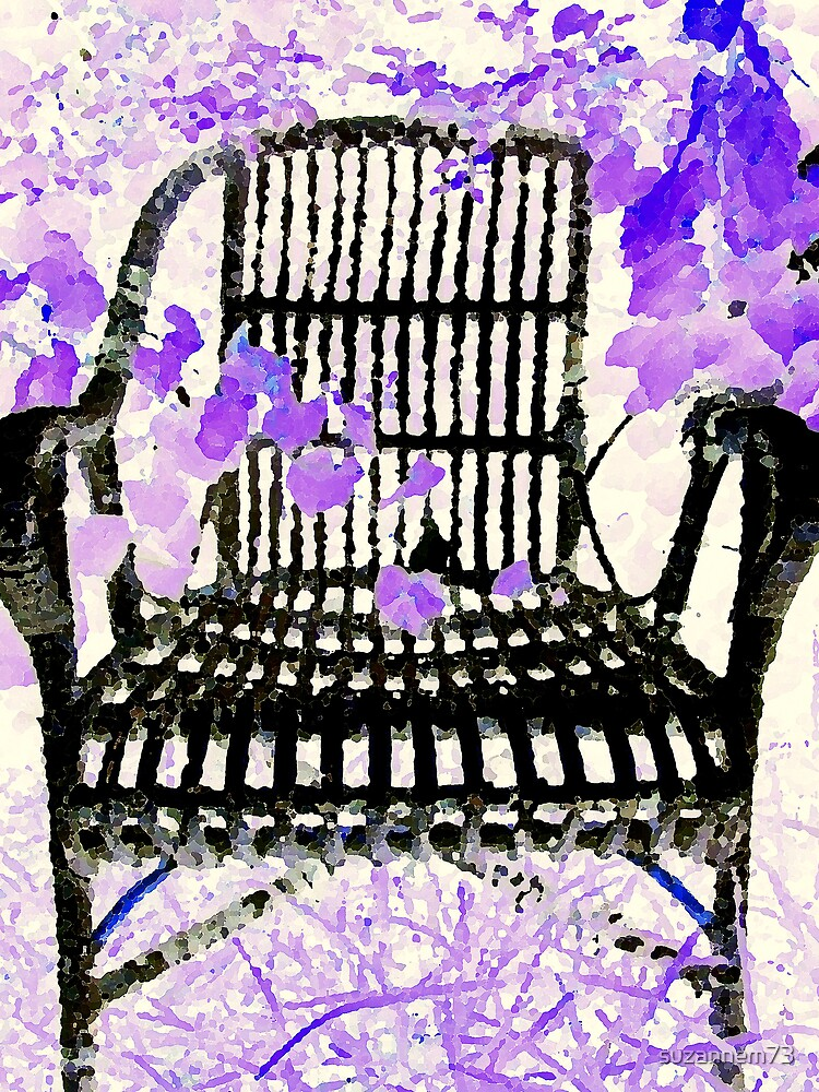Old Wicker Chair by suzannem73