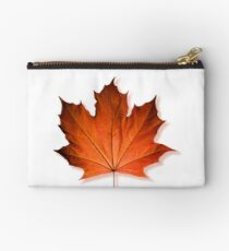 Red Maple Leaf Studio Pouch
