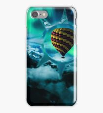 Hot Air Balloon Polyscape iPhone Case/Skin