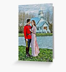Jack And Elizabeth Greeting Card