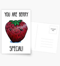 Food Pun - You are Berry Special Postcards