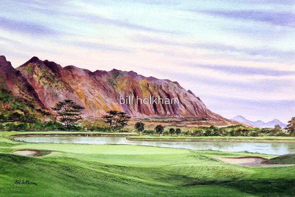 Koolau Golf Course Hawaii  by bill holkham