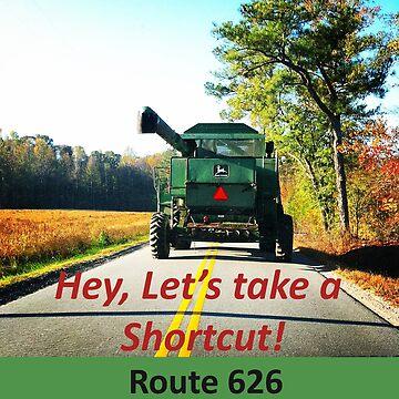 Shortcut Route 626 by ATJones